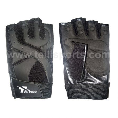 Men's Professional Weightlifting Gloves