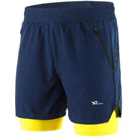 Running And Cycling Shorts with quick drying