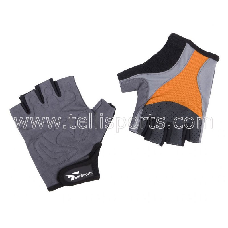 Synthetic Leather Cycle Gloves
