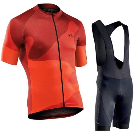 Sleeve Men Cycling And Biking Jersey Set, Summer Classic Clothed Suit, Gel Padded Bib Shorts Cycle Shirt Combo