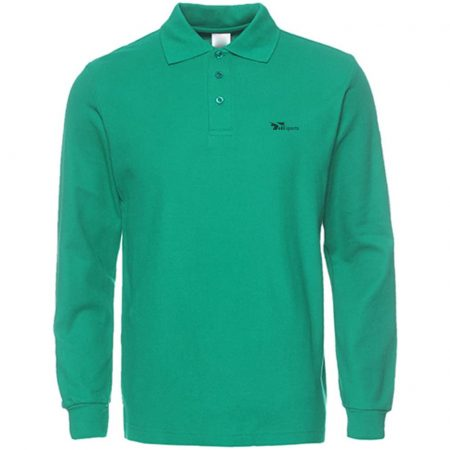 Men's Long Sleeve Casual Solid Golf Polo Shirt | 1 Pack/2 Pack