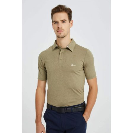Men's Men's Athletic Polo Shirts Loose Performance Classic Fit Short Sleeve For Golf