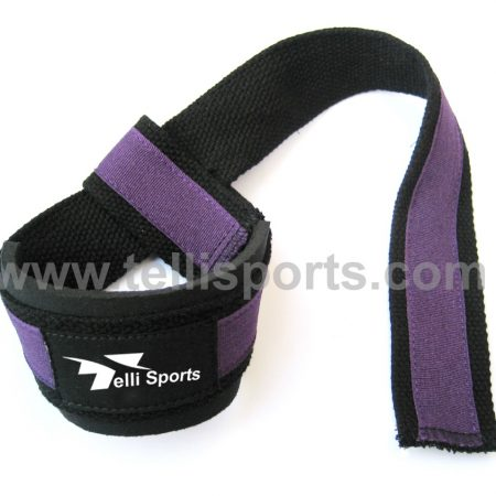 Strength Training Wrist Strap - Neoprene Padded Strap For Weightlifting, Powerlifting, Bodybuilding, Deadlifts
